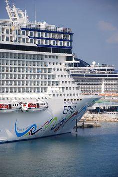Norwegian Cruise Line, Norwegian Epic by impact-color, via Flickr
