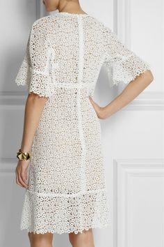 Chloé | Guipure lace dress | NET-A-PORTER.COM