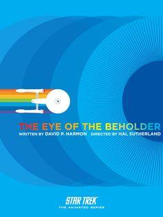 The Eye of the Beholder - Star Trek Animated Series Poster 15