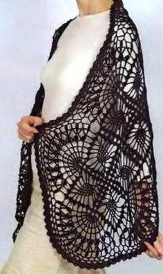 Crochet Shawls: Free Crochet Wrap Pattern