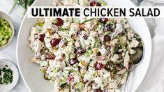 Chicken Salad Recipe Easy Healthy, Healthy Rice, Easy Salad Recipes, Chicken Salad Recipes, Healthy Eating, Healthy Recipes, Grape Recipes, Summer Recipes, Classic Salad
