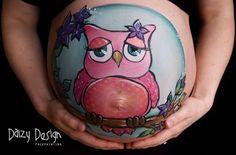 [FOTOS] 24 ideas creativas para pintar tu pancita | Blog de BabyCenter