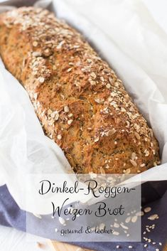 Great Great Spelled-rye-wheat bread - healthy breakfast 10 byte healthy habits for an improved life Baby Food Recipes, Bread Recipes, Family Recipes, Kitchen Recipes, Brunch Recipes, Healthy Foods To Eat, Healthy Recipes, Healthy Life, Recipe For Mom