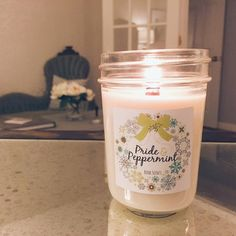 I LOVE the ambiance of a wood wick candle. Book Scents are hand-poured, soy candles! One of my favorites is Pride and Peppermint! https://www.facebook.com/craftychicksknox/