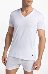 Polo Ralph Lauren V-Neck T-Shirt (3-Pack)