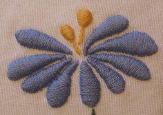 Japanese style flower - light blue 1 | Flickr - Photo Sharing!
