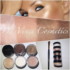 Da Vinci Mineral Makeup - cruelty free brand mineral makeup that offer variety with over 600 cosmetics from powder, liquid and pressed makeup. Kiosk Design, Matte Powder, Mineral Eyeshadow, Paraben Free, Eye Shadow, Cruelty Free, Minerals, Cosmetics, Makeup