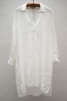 St Tropez Dress — White hankie linen. Over bathing suits, tanks and...