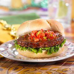 Morningstar Farms® Black Bean Burger with Cajun Sauce