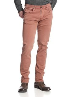 51% OFF Hudson Jeans Men's Byron Straight Leg Colored Jean (Copper)