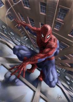 Spiderman) By: Cosimoferri. Comic Book Characters, Marvel Characters, Comic Character, Comic Books Art, Comic Art, Marvel Comics, Marvel Heroes, Anime Comics, Marvel Avengers