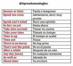 Spanish Grammar, Spanish Phrases, Learn English Grammar, Spanish Words, Spanish Language Learning, English Vocabulary Words, Learn English Words, Teaching Spanish, English Sentences