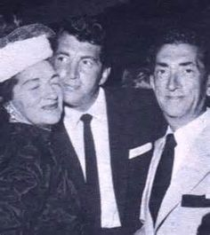 Dean Martin with his proud parents I love this picture of him with his parents!! - web source -MR