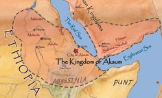The Aksum or Axum Empire was an important military power and trading nation, existing from approximately 100 to 940 A.D. It was one of only four major international superpowers of its day along with Persia, Rome and China. Axum controlled northern Ethiopia, Eritrea, northern Sudan, southern Egypt, Djibouti, Western Yemen, and southern Saudi Arabia, totaling 1.25 million square kilometers. Axum traded and projected its influence as far as China and India.