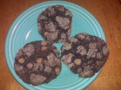 Chunky Chocolate Cake Mix Cookies