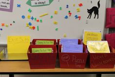 Middle School Math Centers- need to make these! January 2013