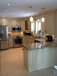 Astounding Should You Do Your Own Kitchen Remodeling Ideas. Phenomenal Should You Do Your Own Kitchen Remodeling Ideas. Kitchen Room Design, Kitchen Cabinet Design, Kitchen Redo, Modern Kitchen Design, Kitchen Layout, Home Decor Kitchen, Interior Design Kitchen, Kitchen Ideas, Kitchen Upgrades