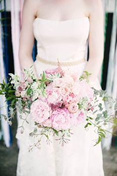 bridal bouquet idea; photo: Brklyn View Photography