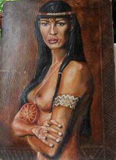 Arawak Anacaona (1474-1503). Taino caicica (chief) of Jaragua. Negotiated with Christopher Columbus when he arrived in southwest Haiti. Fought off Spanish conquerors. Noted for her attempt to make peace between the Spaniards and the Tainos. Was captured and hung by Nicola De Ovando. Also celebrated as a composer of ballads and narrative poems (areitos). Considered one of the first Haitian heroes.