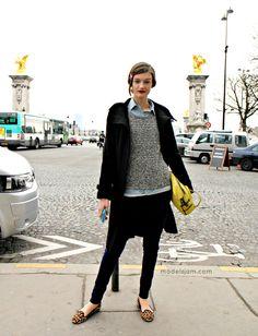 Andie Arthur's streestyle, Paris, March 2012