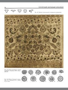 traditional empboidered towel. Kazan tatars.
