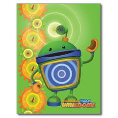 Bot - Beacon Postcard | Team Umizoomi