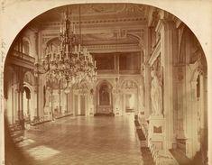 Warszawa – sala balowa w Pałacu Jabłonowskich (Ratusz) 1870