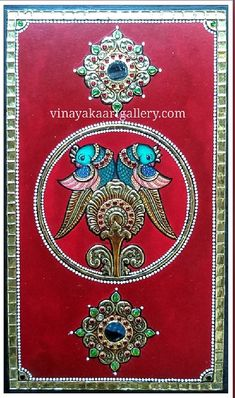 3d Wall Painting, Fabric Painting, Painting & Drawing, Ganesha Painting, Tanjore Painting, Indian Wedding Gifts, Cd Art, India Art, Indian Art Paintings