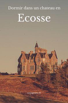 Alors hanté ou pas hanté ? J'ai dormi dans un chateau sur l'île de Mull en Ecosse et j'ai adoré ! #voyage #ecosse