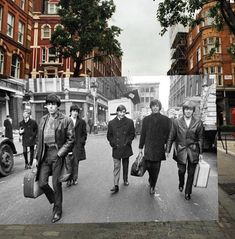 Overlapping Photos Merge Historic Scenes from the Past with the Present - My Modern Met