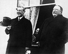 President Woodrow Wilson & President William Howard Taft