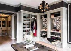 Luxury Closets for the Master Bedroom, bedroom decor ideas for luxury bathrooms with a lot of glamour! See more inspirations here: http://www.bocadolobo.com/en/inspiration-and-ideas/