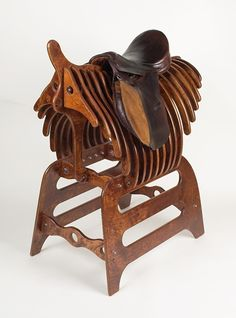 The IKARUS Saddle Rack. This is the most amazing saddle rack I have ever seen. I love it. It's only £880.