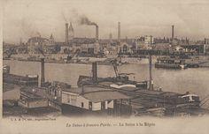 La Seine et les quais du Paris d'antan