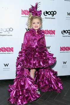 Eden Wood At The New Now Next Awards   The 45 Most WTF Red Carpet Moments Of 2012