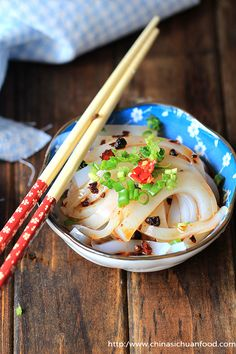 Chinese jelly noodle salad