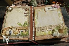 ScrappinAbby: Altered Vintage Book