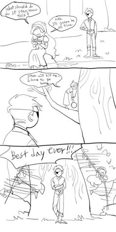 Art by Byungshinan | Mabill | A Tangled Crossover Comic Part 2