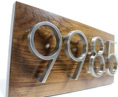 1000 images about address signs on pinterest grill - House number plaque ideas ...