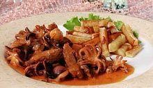 Рецепт - Трепанги или осьминоги по-дальневосточному