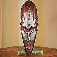 African wood mask, 'Abusua Panyin' from @NOVICA, They help #artisans succeed worldwide.