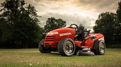 Honda Racing crafts a 109-hp lawn mower. Mean Mower can hit 60 in four seconds and top out at 130 mph, but it still cuts grass.