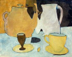 Evan Walters (UK, Wales 1893-1951)Still life with Teapotoil on canvas 35.8 x 44.8 cm