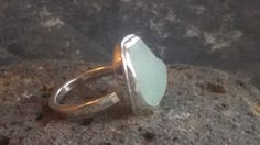 1392 Large Pale Seaglass Ring – Roche Designs