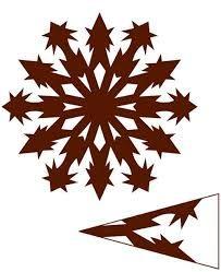 Výsledek obrázku pro papírové vánoční ozdoby vločky do oken Paper Snowflakes, Quilling Patterns, Paper Cutting, Cut Paper, Paper Flowers, Origami, Cricut, Paper Crafts, Snow Flakes