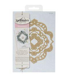 Spellbinders® Nestabilities Decorative Elements Dies-Fancy Diamond