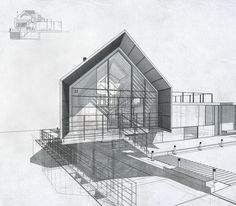 Perspective drawing_house by www.ateliercrilo.com
