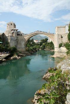 The Mostar Old Bridge, Bosnia