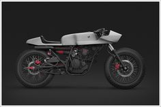 Yamaha Scorpio - Thrive Motorcycles - Pipeburn - Purveyors of Classic Motorcycles, Cafe Racers & Custom motorbikes Triumph. BMW cafe racer I. Honda Cb750, Yamaha, Custom Motorcycles, Custom Bikes, Concept Motorcycles, Cafe Racer Parts, Inazuma Cafe Racer, New Bicycle, Triumph Scrambler