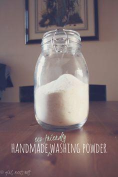 make // hand made (eco-friendly) washing powder | girl, meets wolf
